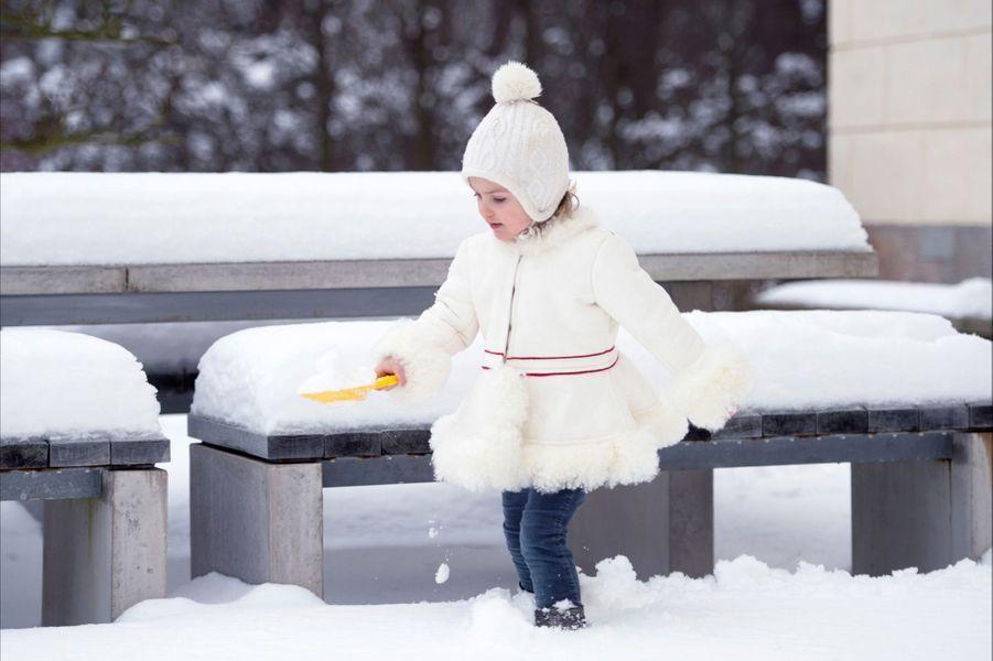 La princesse Estelle de Suède fête ce lundi son troisième anniversaire