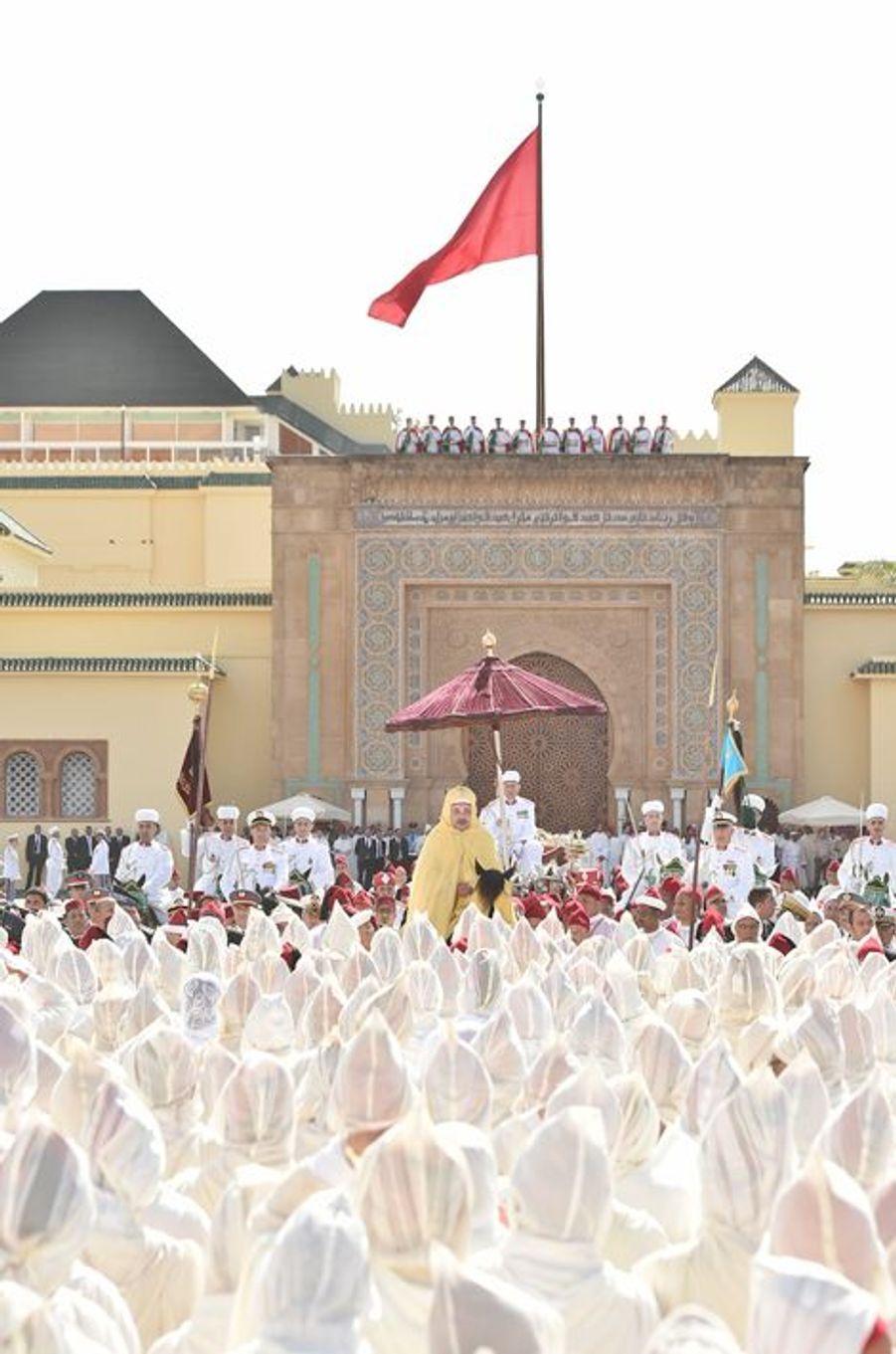Le roi Mohammed VI du Maroc à Rabat, le 31 juillet 2015