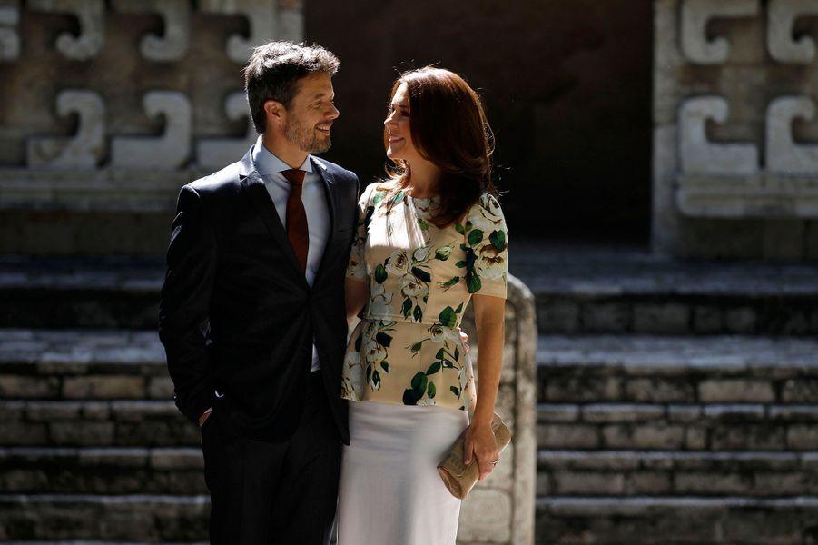 Frederik et Mary sous le soleil de Mexico