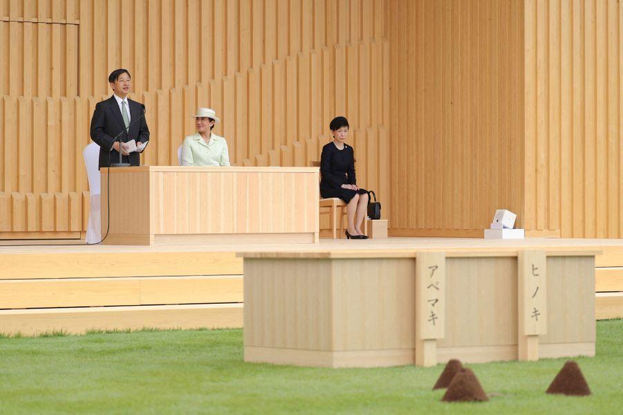 L'impératrice Masako et l'empereur Naruhito du Japon à Owariasahi, le 2 juin 2019