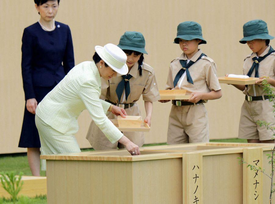 L'impératrice Masako du Japon à Owariasahi, le 2 juin 2019