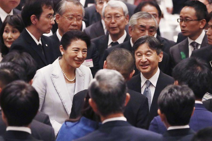 L'impératrice Masako et l'empereur Naruhito du Japon à Nagoya, le 1er juin 2019