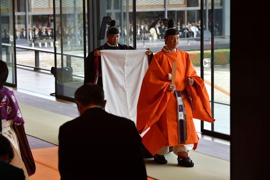 Le prince Fumihito d'Akishino à Tokyo le 22 octobre 2019