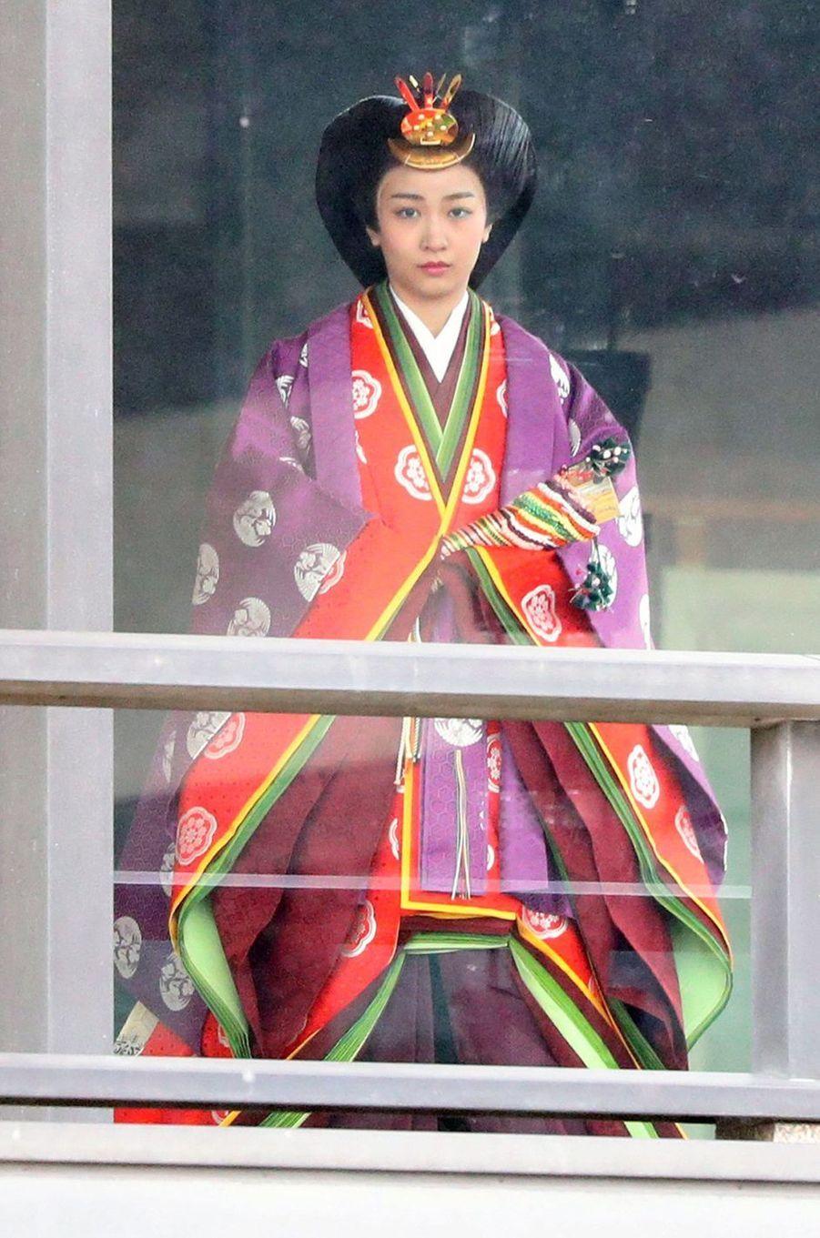 La princesse Kako du Japon à Tokyo, le 22 octobre 2019