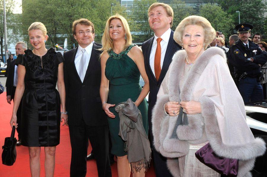 La famille réunie en 2009