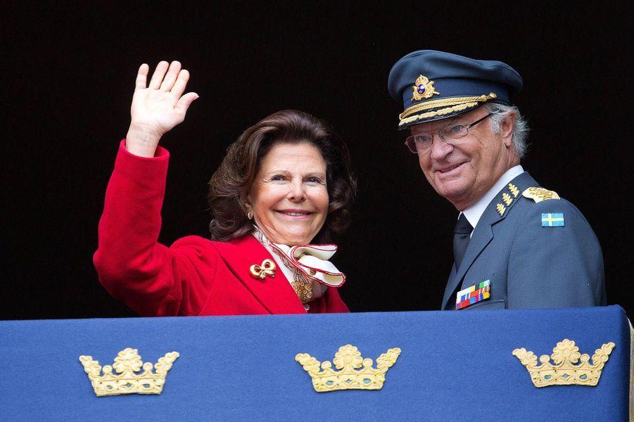 La reine Silvia et le roi Charles XVI Gustave