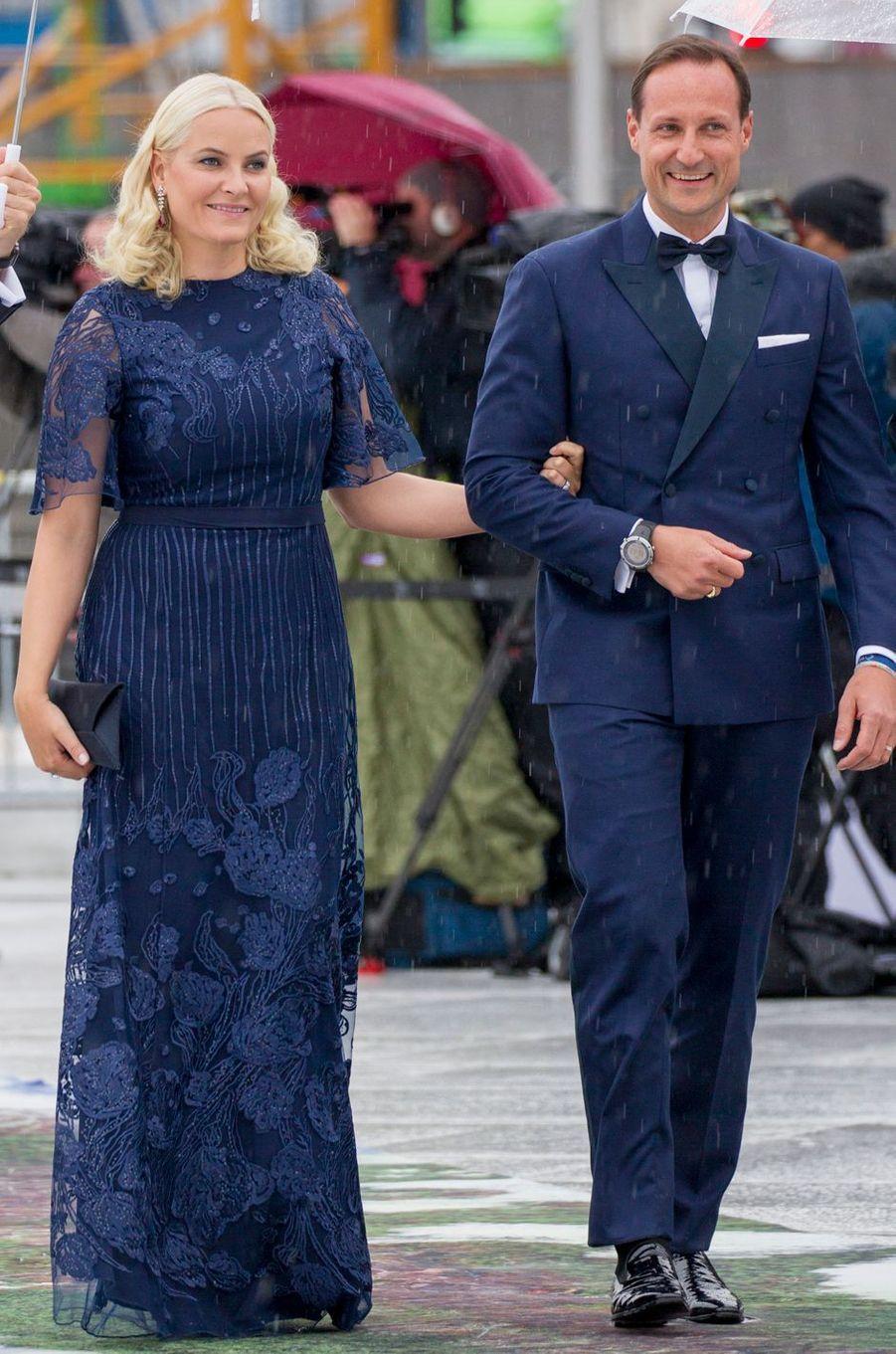 La princesse Mette-Marit de Norvège en Marthe Krogh, le 10 mai 2017