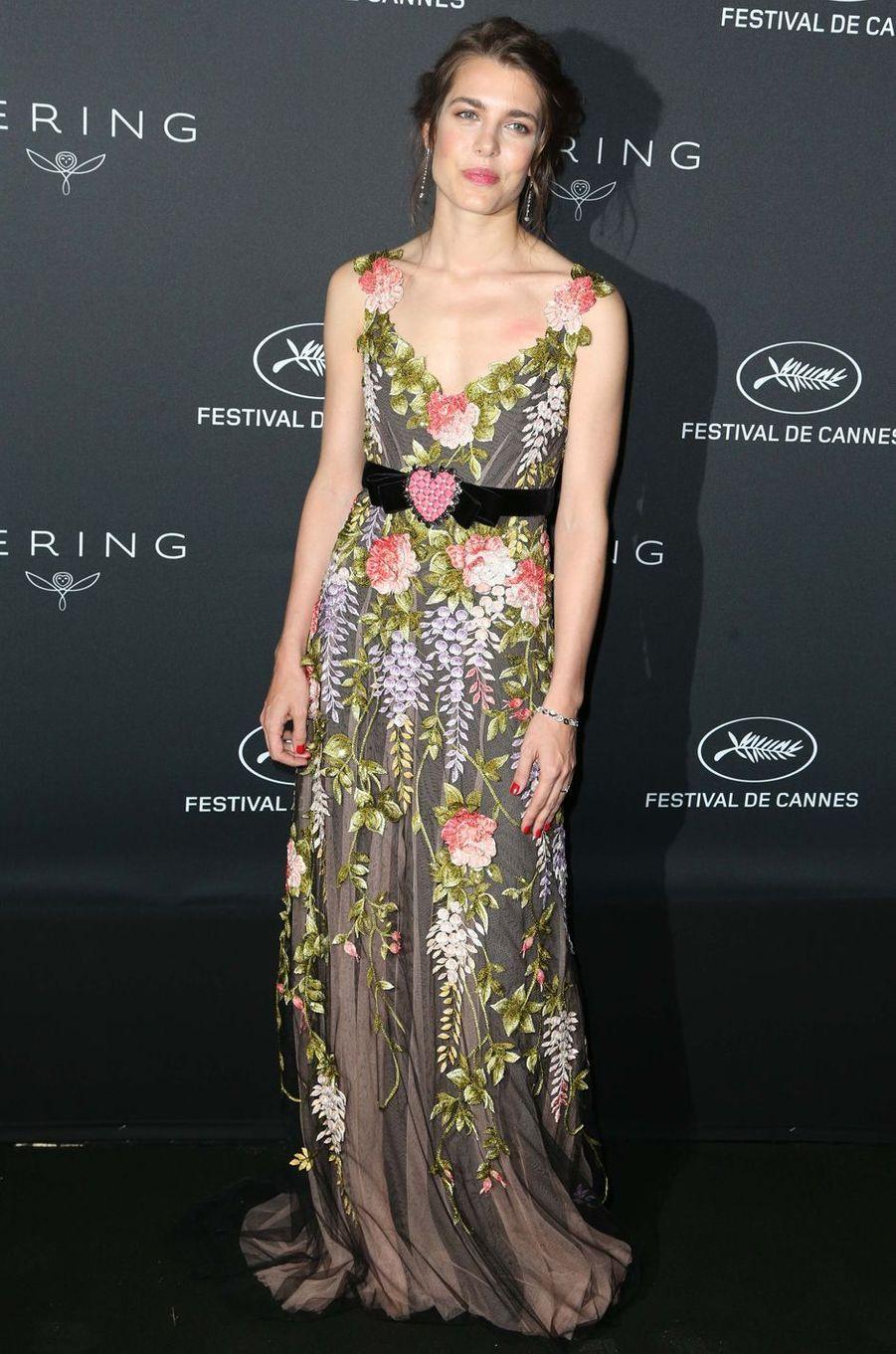 Charlotte Casiraghi en Gucci, le 21 mai 2017