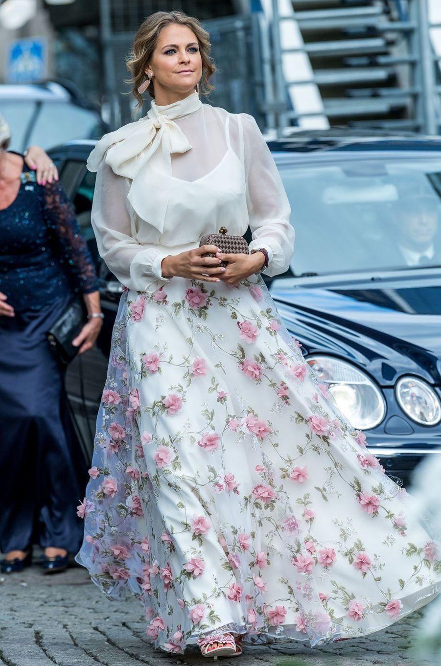 La princesse Madeleine de Suède en Ida Sjöstedt, le 15 juin 2017