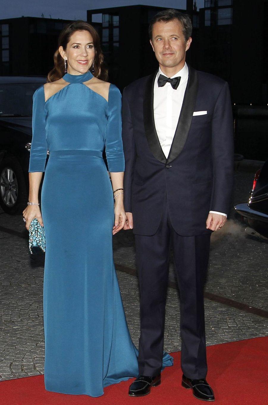 La princesse Mary de Danemark en Jesper Hovring, le 29 mars 2017