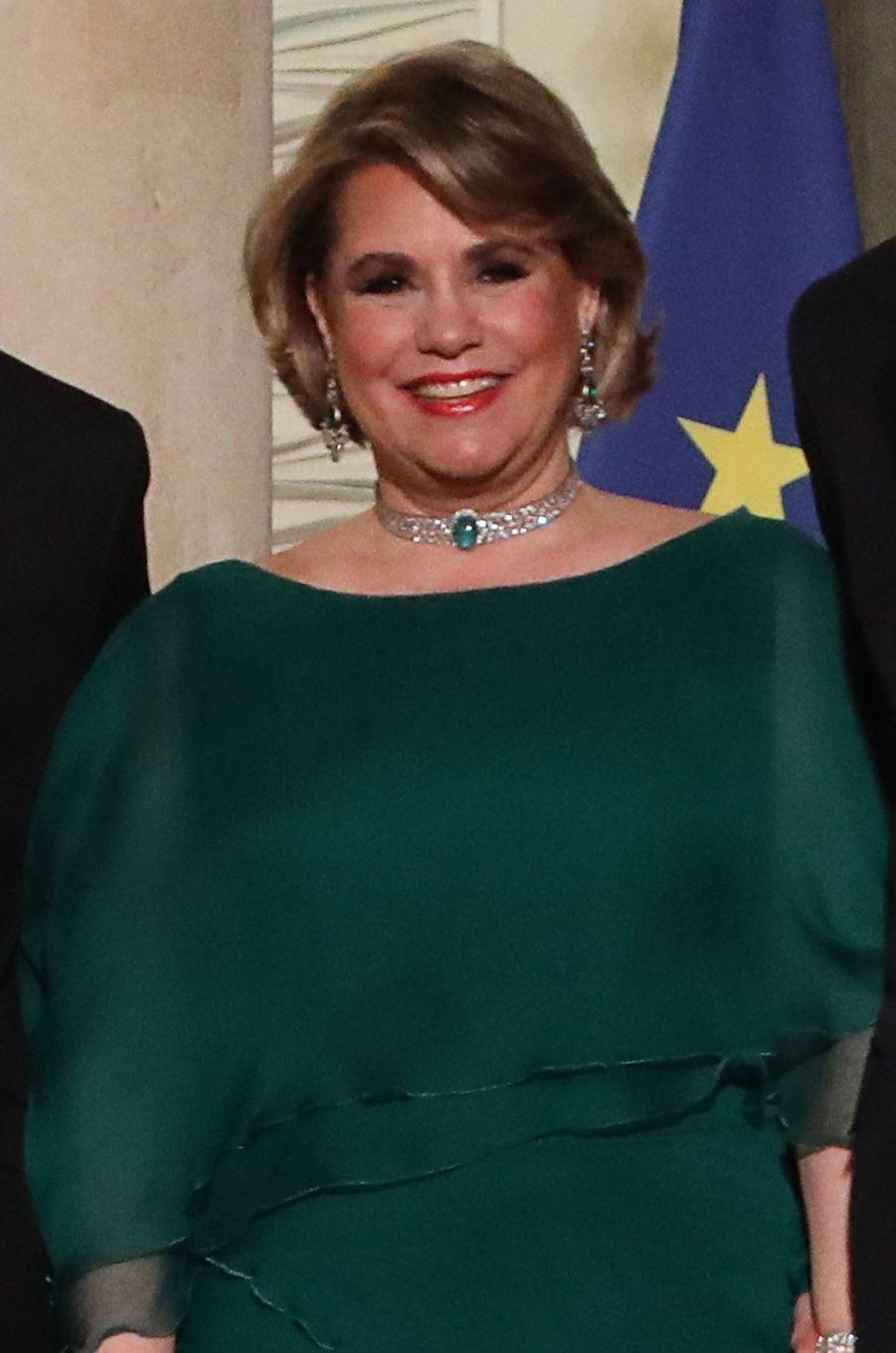 La grande-duchesse Maria Teresa de Luxembourg, le 19 mars 2018