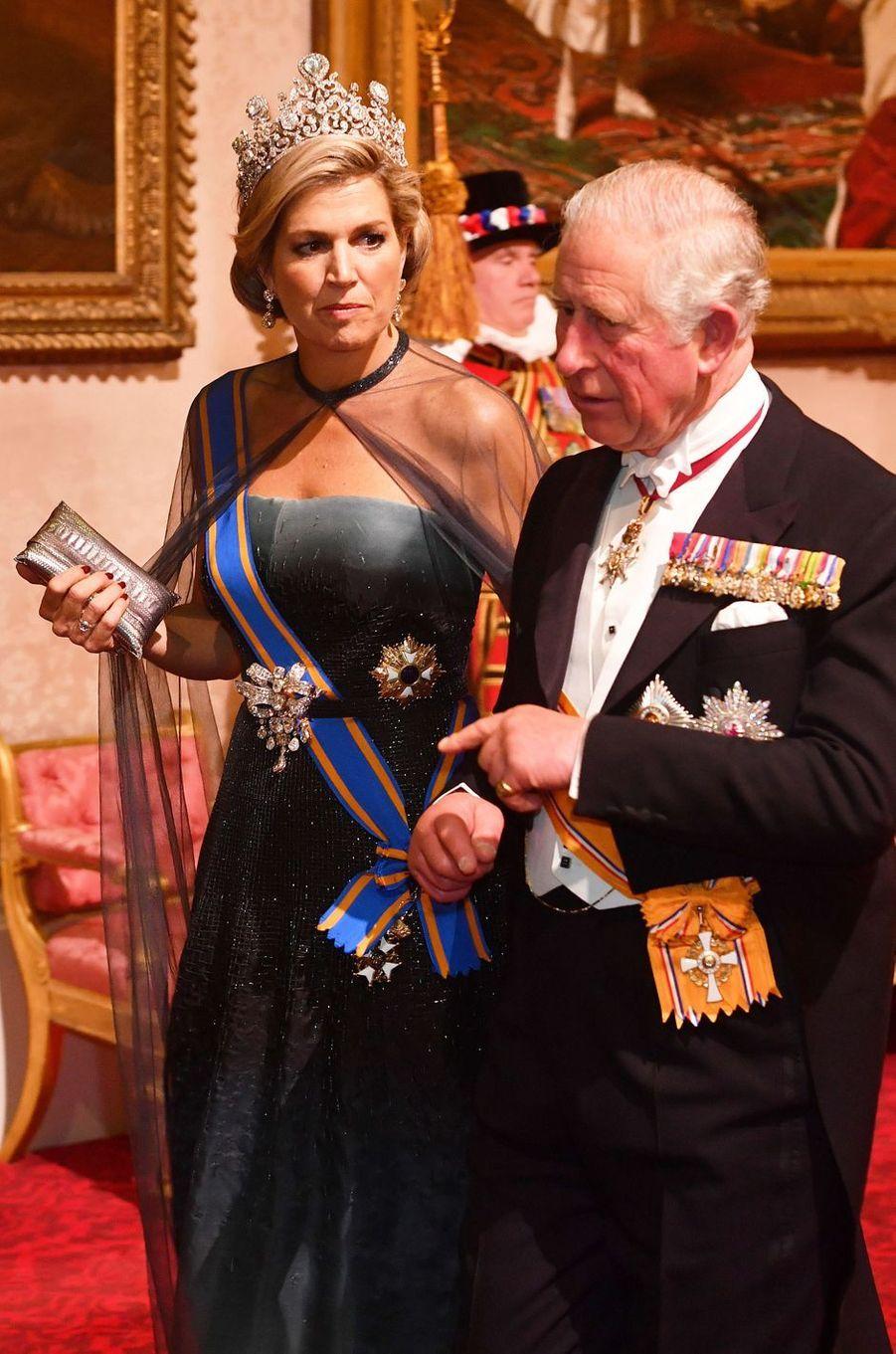 La reine Maxima des Pays-Bas, le 23 octobre 2018