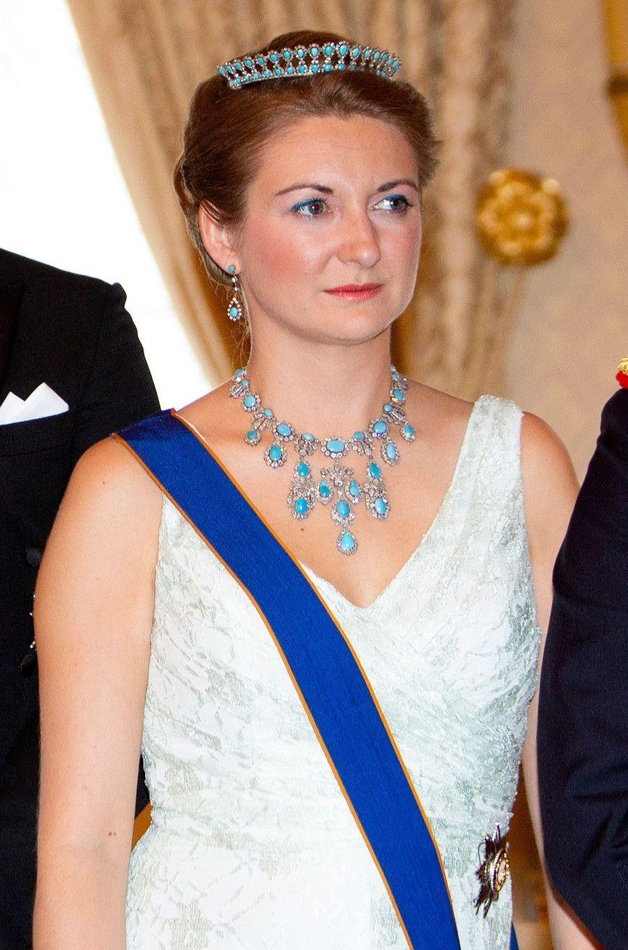 La princesse Stéphanie de Luxembourg, le 23 juin 2018