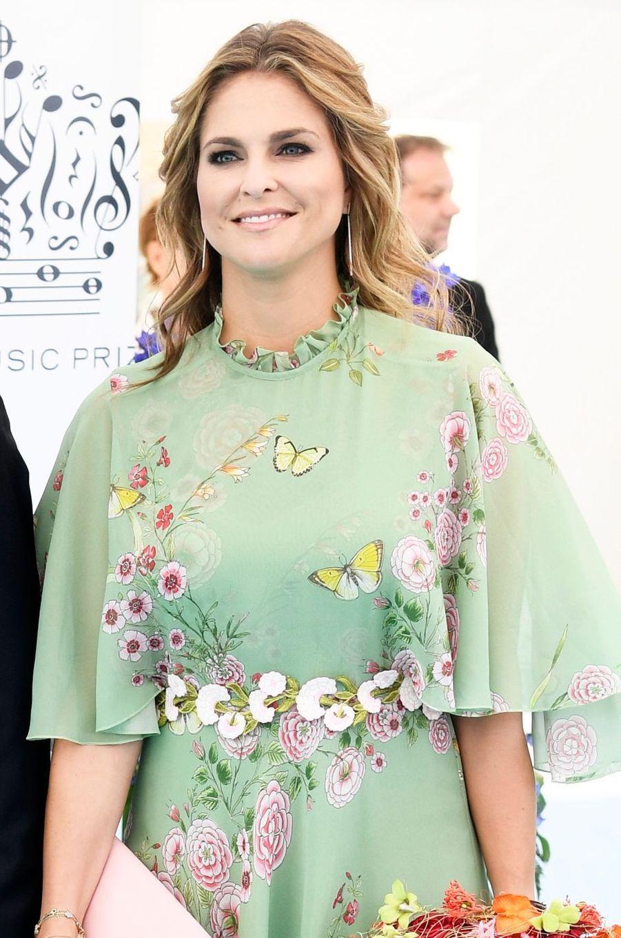 La princesse Madeleine de Suède, le 14 juin 2018