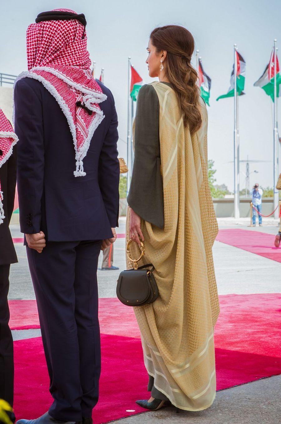 La reine Rania de Jordanie, le 25 mai 2019 à Amman