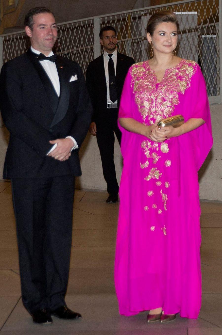 La princesse Stéphanie de Luxembourg, le 16 octobre 2019 à Luxembourg