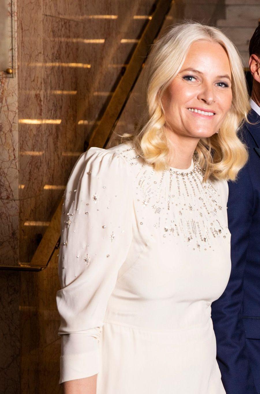 La princesse Mette-Marit de Norvège, à Oslo le 10 décembre 2019