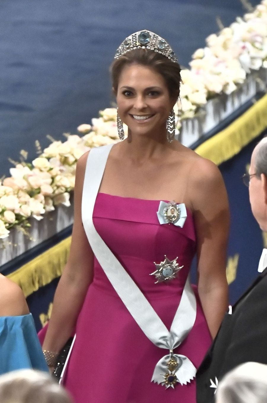 La princesse Madeleine de Suède, à Stockholm le 10 décembre 2019