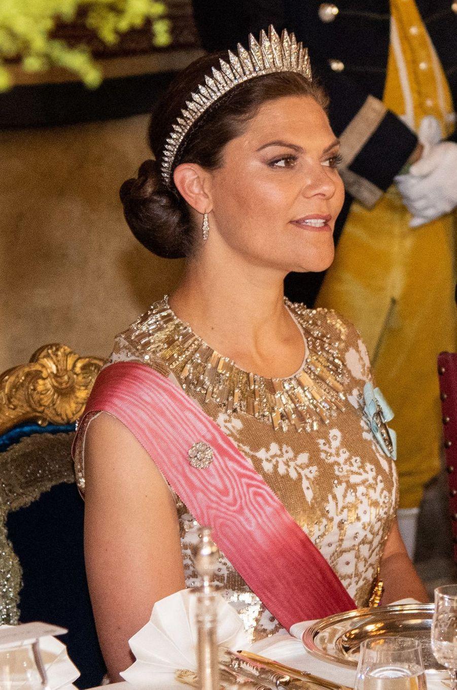 La princesse Victoria de Suède, à Stockholm le 14 juin 2019