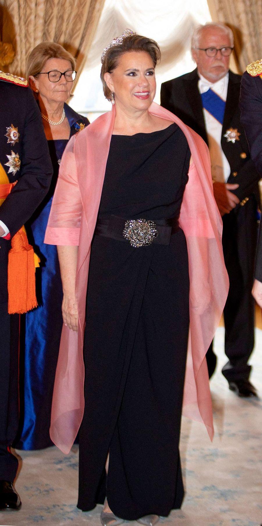 La grande-duchesse Maria Teresa de Luxembourg, le 23 juin 2019 à Luxembourg