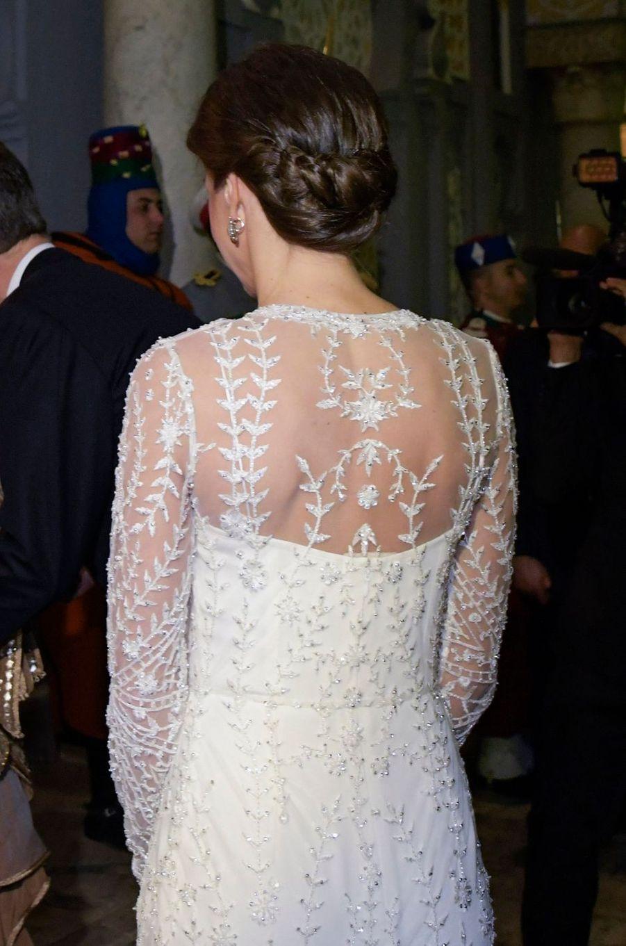 La reine Letizia d'Espagne, le 13 février 2019 à Rabat