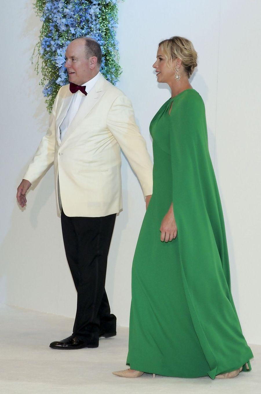La princesse Charlène de Monaco, le 26 juillet 2019 à Monaco