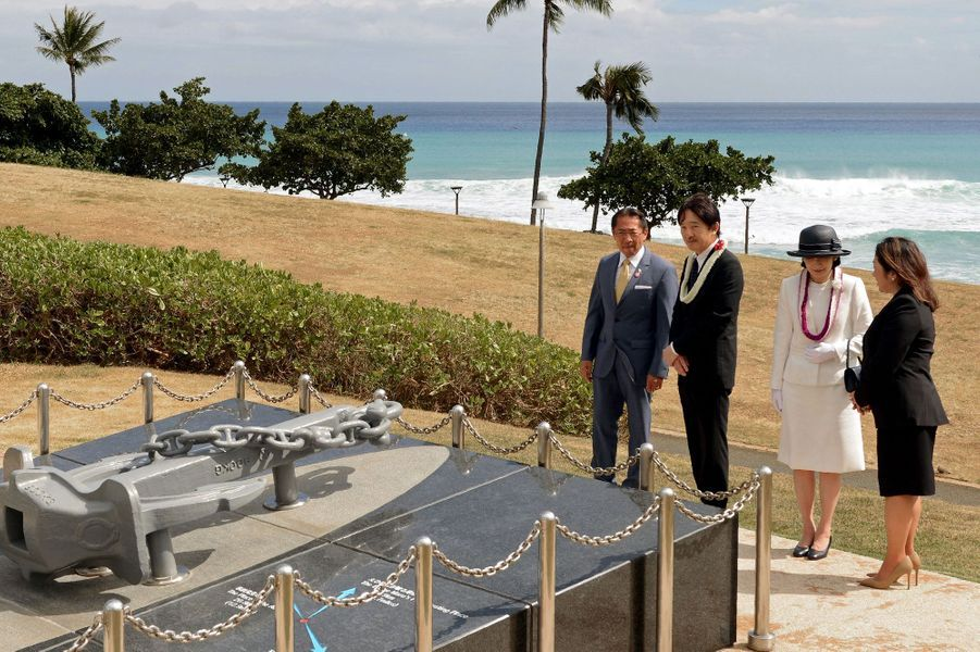 La princesse Kiko et le prince Akishino du Japon à Honolulu, le 4 juin 2018