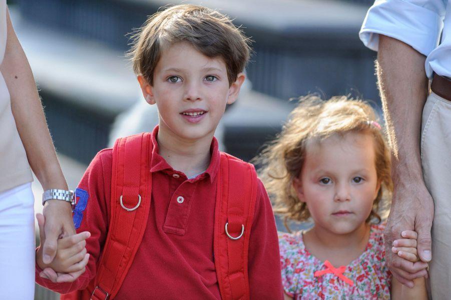 Le prince Henrik et la princesse Athena de Danemark