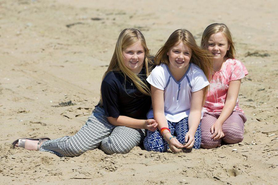 Les princesses Catharina-Amalia, Alexia et Ariane des Pays-Bas