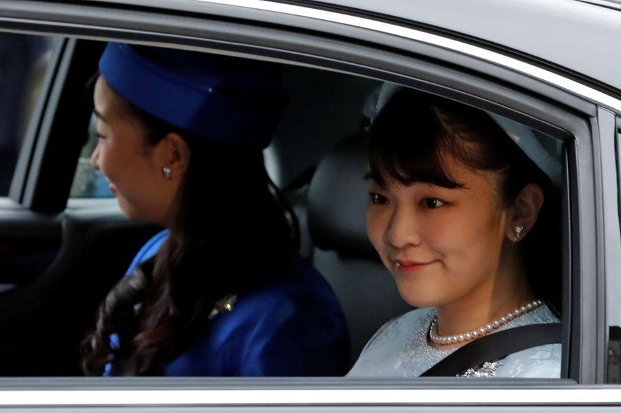 Les princesses Kako et Mako du Japon, à Tokyo le 30 avril 2019