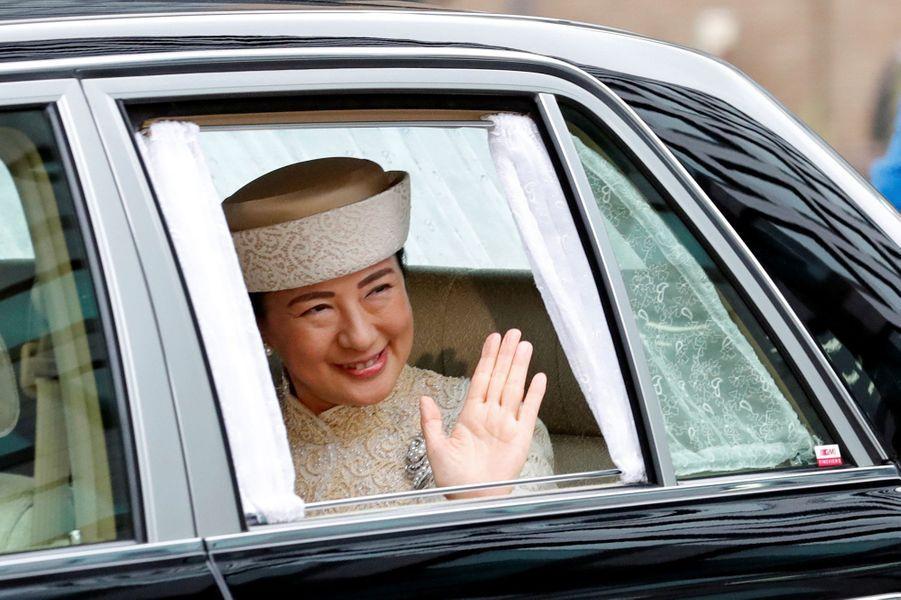La princesse Masako du Japon, à Tokyo le 30 avril 2019