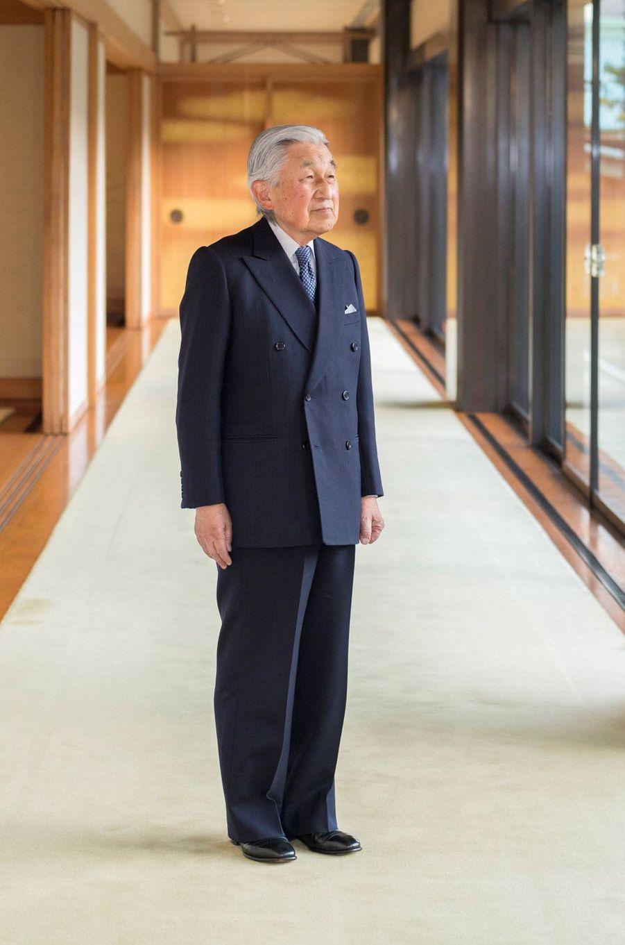 L'empereur Akihito du Japon à Tokyo, le 10 décembre 2018. Photo diffusée pour ses 85 ans le 23 décembre 2018