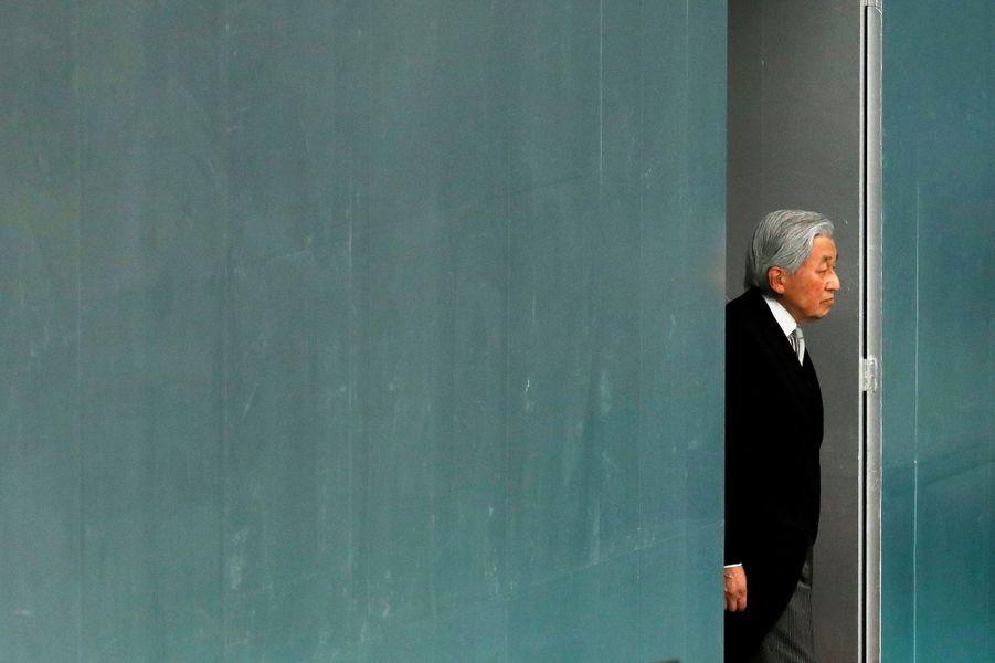 L'empereur Akihito du Japon à Tokyo, le 15 août 2018