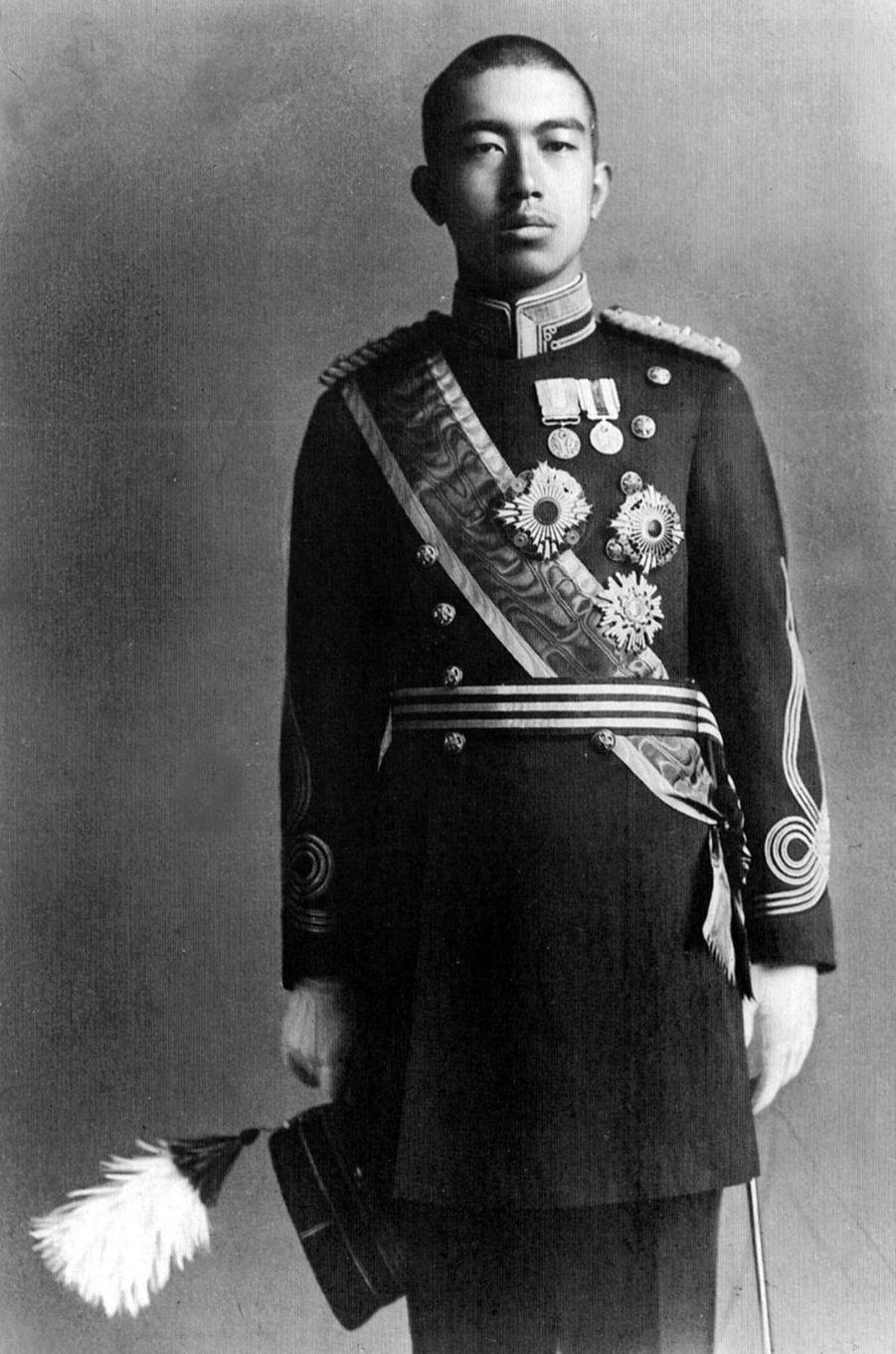 Le prince Hirohito du Japon, en avril 1919