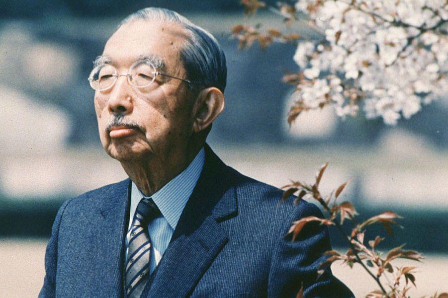 L'empereur Hirohito du Japon, le 12 avril 1986