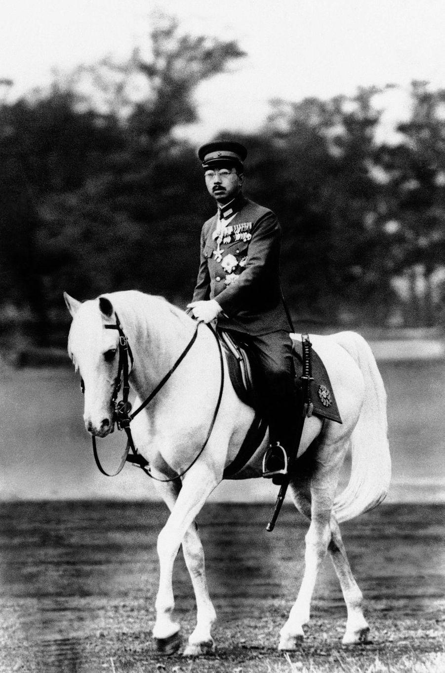 L'empereur Hirohito du Japon, en 1940