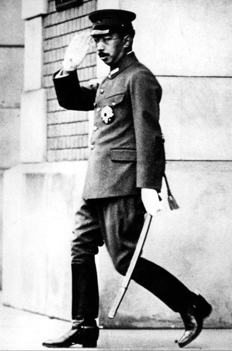 L'empereur Hirohito du Japon, le 1er août 1941