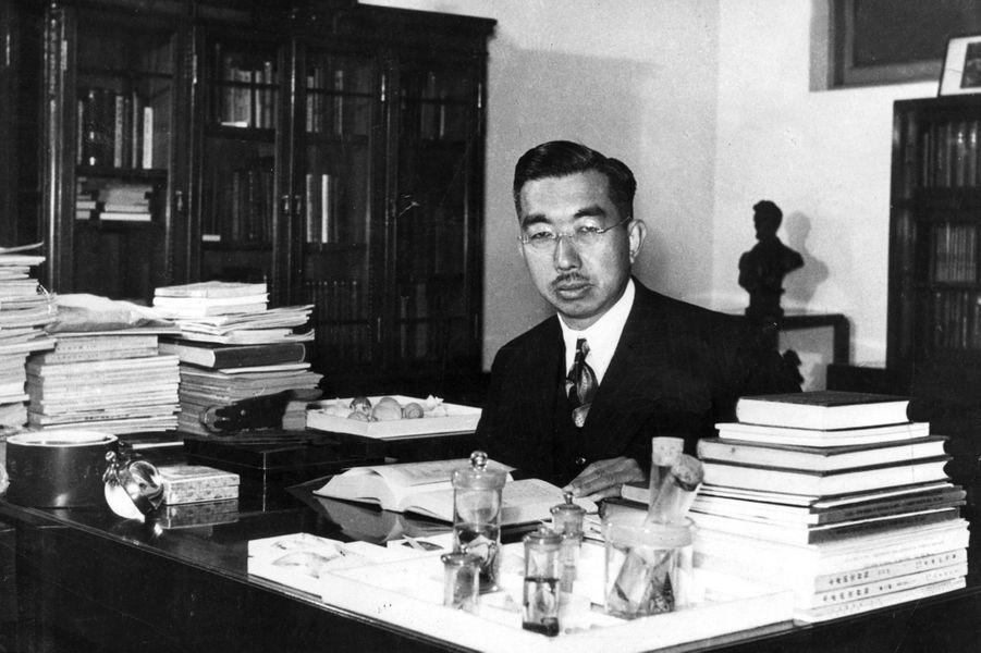L'empereur Hirohito du Japon, dans les années 1950