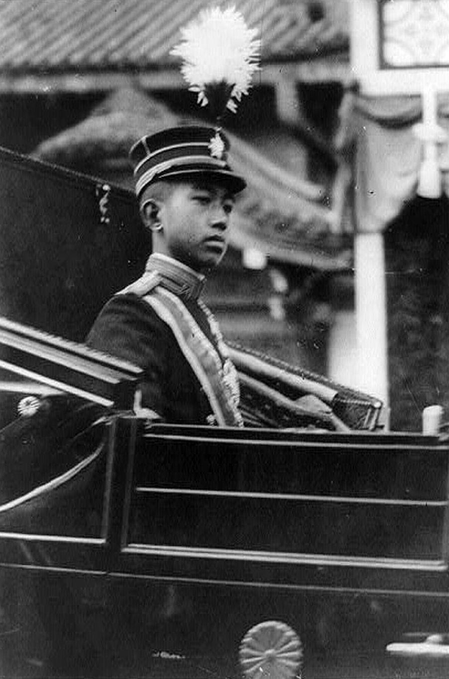 Le prince Hirohito du Japon, en 1926