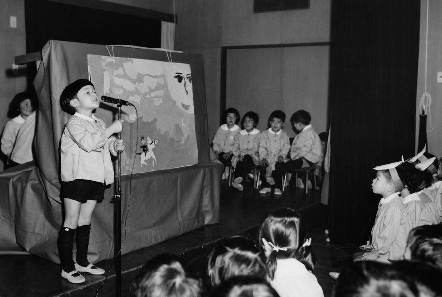 Le prince Naruhito du Japon, le 16 mars 1966