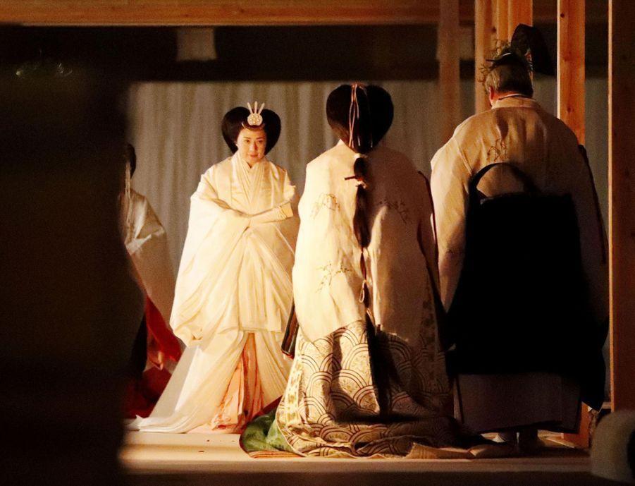 L'impératrice Masako du Japon à Tokyo, le 14 novembre 2019