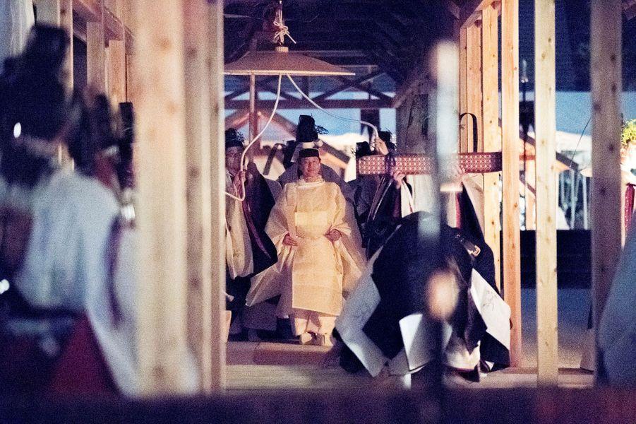 L'empereur Naruhito du Japon à Tokyo, le 14 novembre 2019