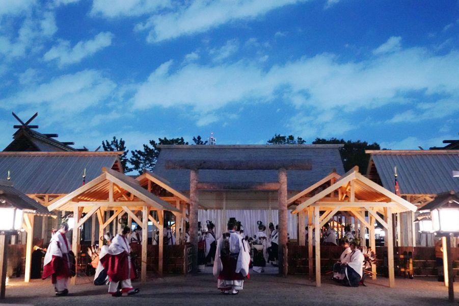 Cérémonie du Daijosai à Tokyo, le 14 novembre 2019