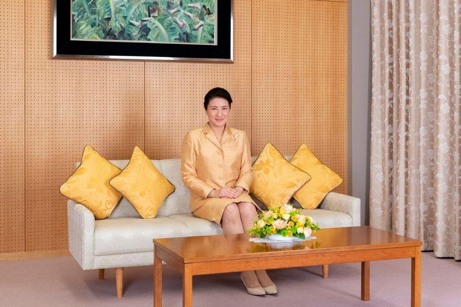 L'impératrice Masako du Japon à Tokyo, le 3 décembre 2019. Photo diffusée pour ses 56 ans le 9 décembre 2019