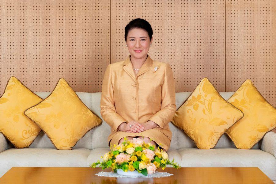 L'impératrice Masako du Japon à Tokyo, le 3 décembre 2019. Photo diffusée pour son 56e anniversaire le 9 décembre 2019