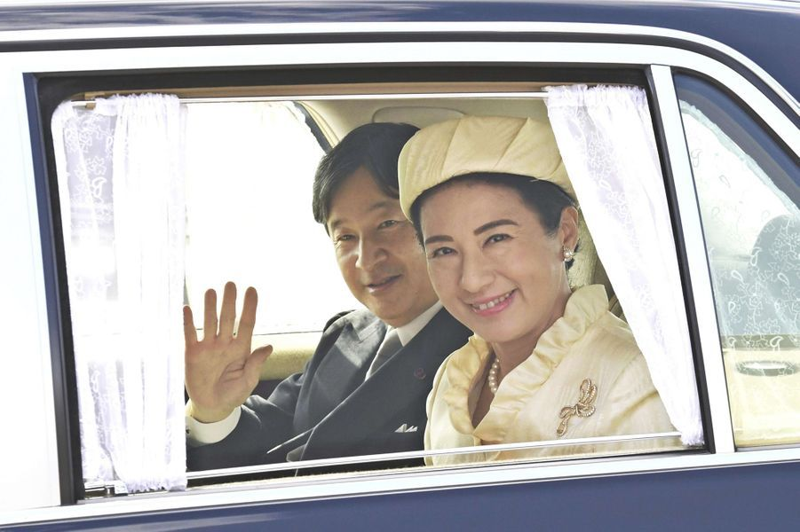 La princesse Masako et le prince Naruhito du Japon à Tokyo, le 20 octobre 2018