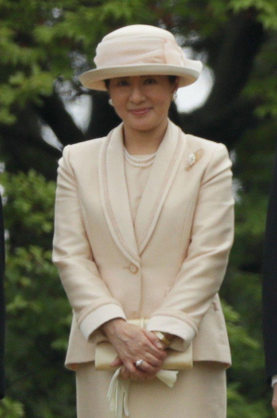 La princesse Masako du Japon à Tokyo, le 25 avril 2018
