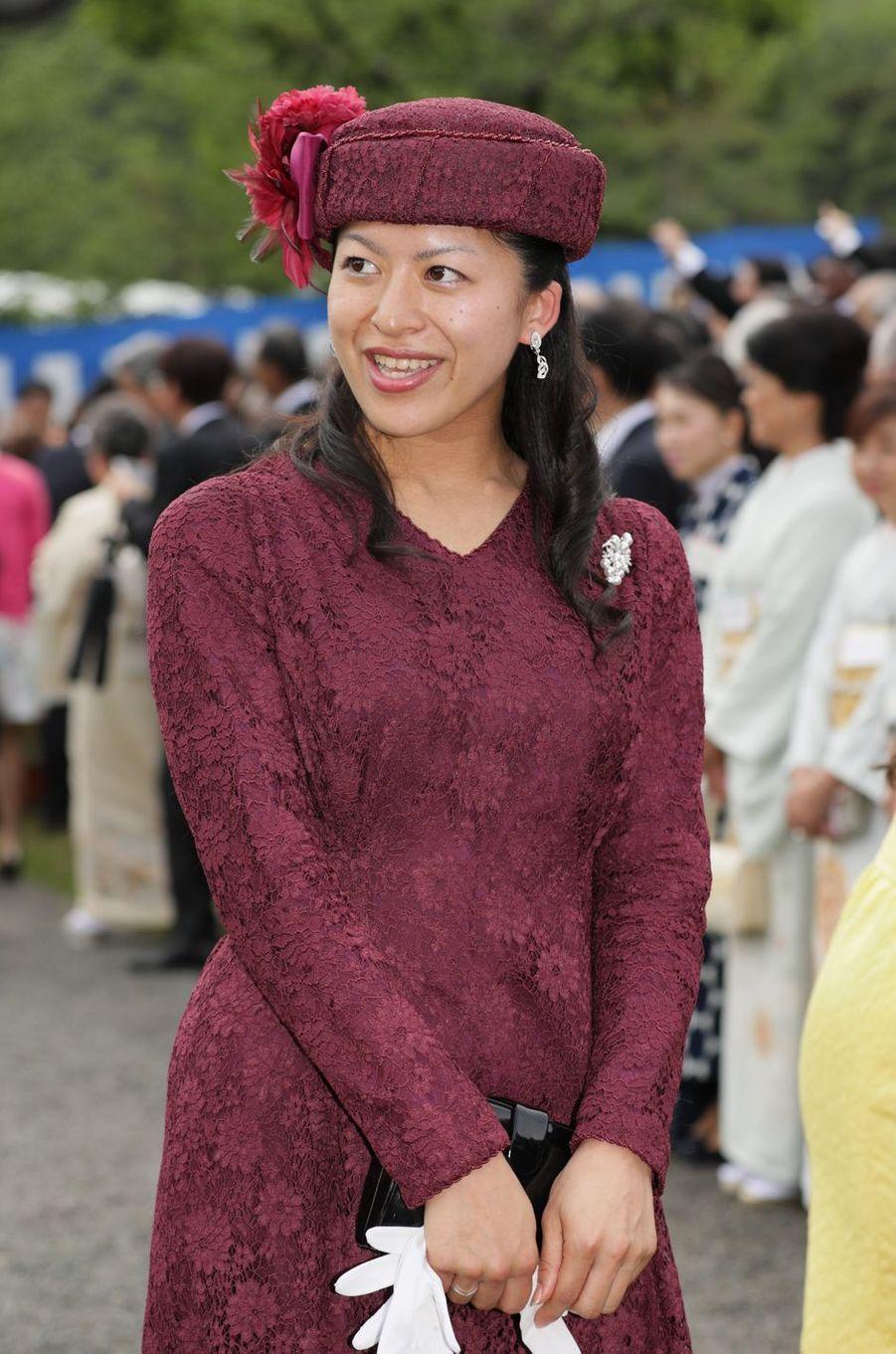 La princesse Tsuguko de Takamodo à Tokyo, le 25 avril 2018