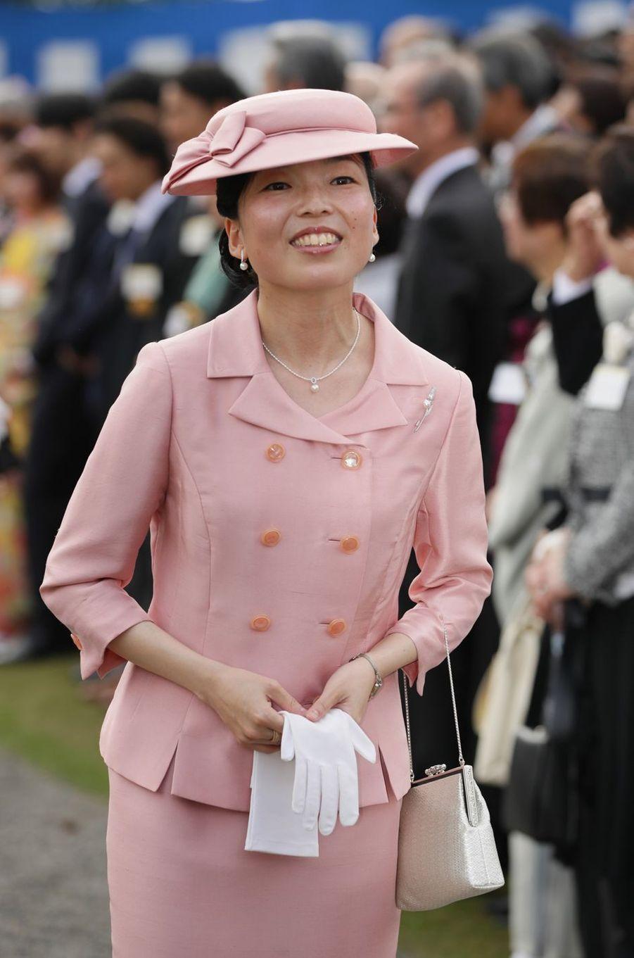 La princesse Akiko de Mikasa à Tokyo, le 25 avril 2018