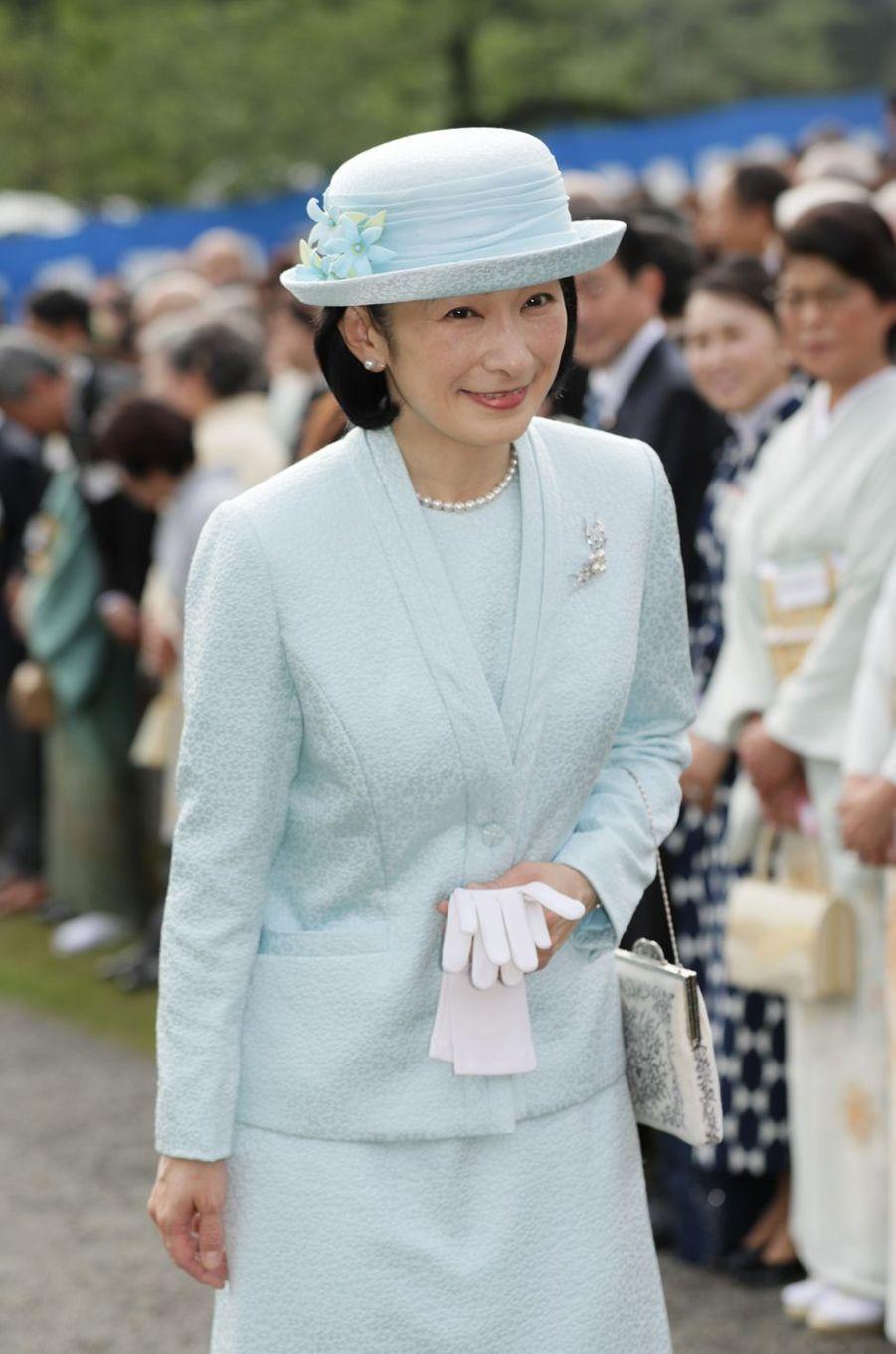 La princesse Kiko du Japon à Tokyo, le 25 avril 2018
